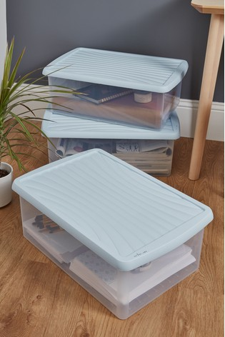 Set of 3 37L Boxes by Wham