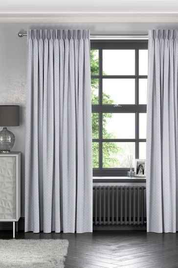 Leta Dove Grey Made To Measure Curtains