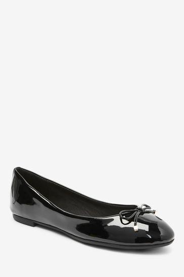 Black Regular/Wide Fit Forever Comfort® Ballerina Shoes
