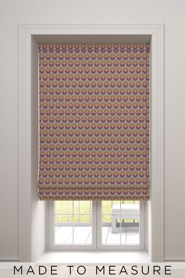 Varese Nectarine Orange Made To Measure Roman Blind