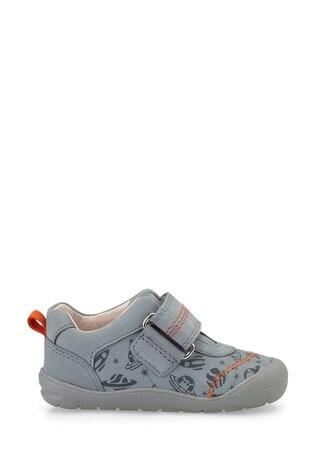 Start-Rite Footprint Grey First Steps Shoes