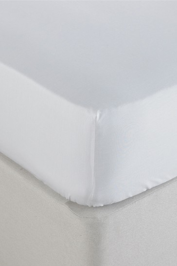 250 Thread Count Stonewashed Fitted Sheet by Riva Home