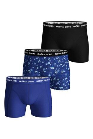 Bjorn Borg Sammy BB L.A Flower Underwear Three Pack