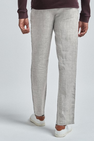 Light Grey Linen Trousers