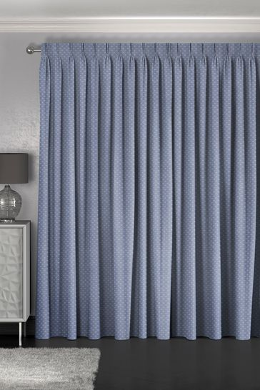 Leta Navy Blue Made To Measure Curtains
