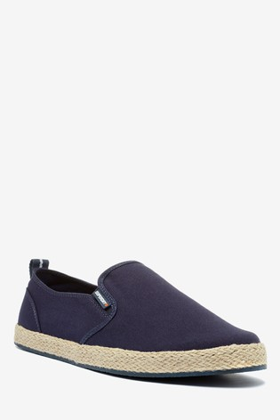 Superdry Navy Slip-On Shoes