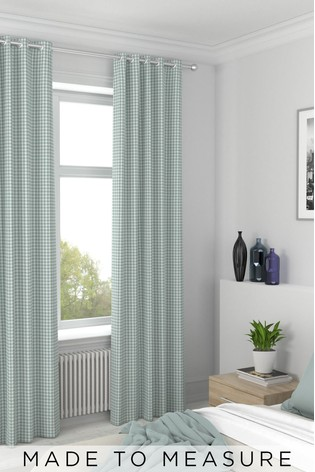 Melrose Seafoam Green Made To Measure Curtains