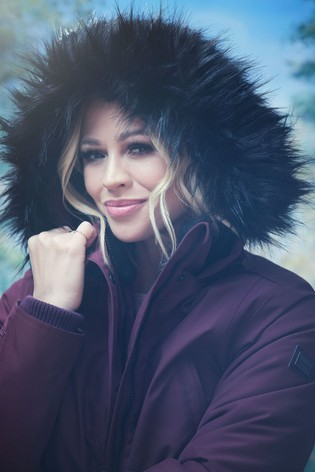 Regatta Kimberley Walsh Edit Purple Sefarina Waterproof Jacket