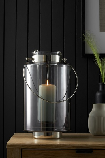 Smoke Glass Lantern