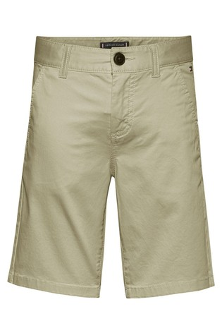Tommy Hilfiger Brown Essential Chino Shorts