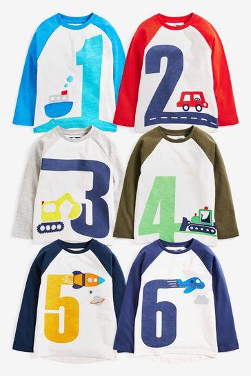 Multi Jersey Appliqué I am Long Sleeve T-Shirt (12mths-7yrs)