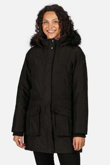 Regatta Black Sefarina Waterproof Jacket
