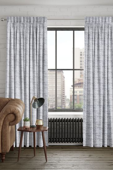 Silver Grey Mirage Made To Measure Curtains