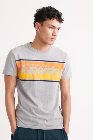 Superdry Core Logo Stripe T-Shirt