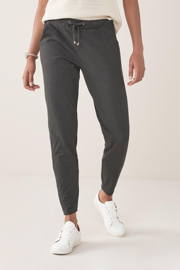 Grey Marl Jersey Joggers