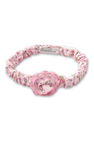 Kissy Kissy Pink Ditsy Floral Headband
