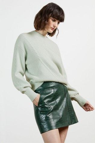 Ted Baker Green Ummaa Chunky Sweater