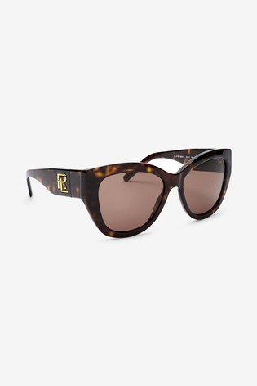 Ralph Lauren Tortoiseshell Cat Eye Sunglasses
