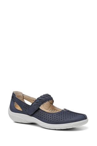 Hotter Quake II Wide Fit Touch Fastening Mary Jane Shoes