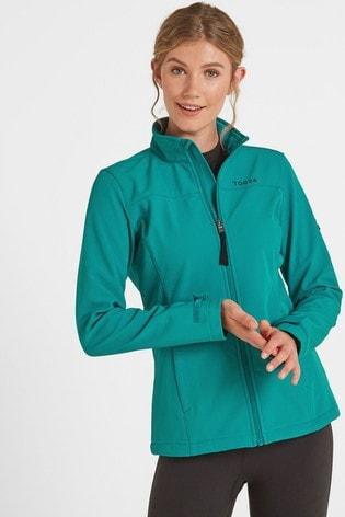 Tog 24 Teal Keld Womens Softshell Jacket