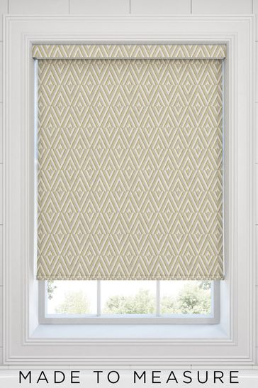 Nina Yellow Made To Measure Roller Blind