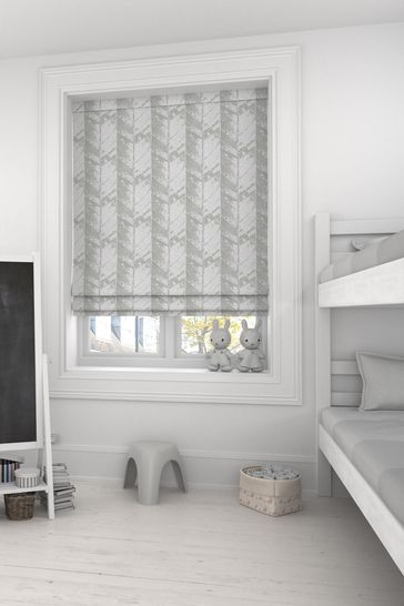 Hampson Brass Natural Made To Measure Roman Blind