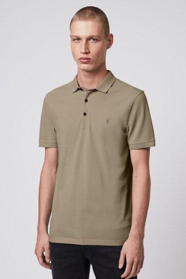 AllSaints Reform Short Sleeved Poloshirt