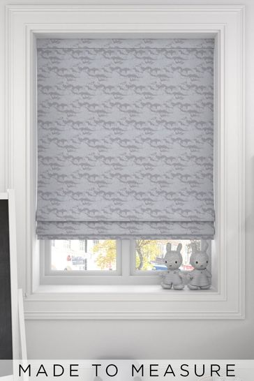 Mirage Silver Grey Made To Measure Roman Blind