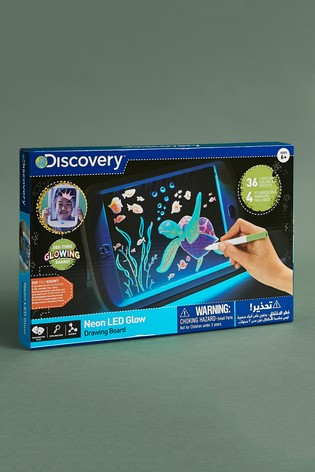 Discovery Toy Drawing Light Board Neon Glow