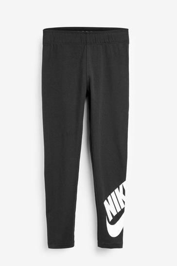 Nike Little Kids Black Leg-A-See Leggings