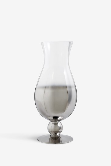 Ombre Footed Flute Vase