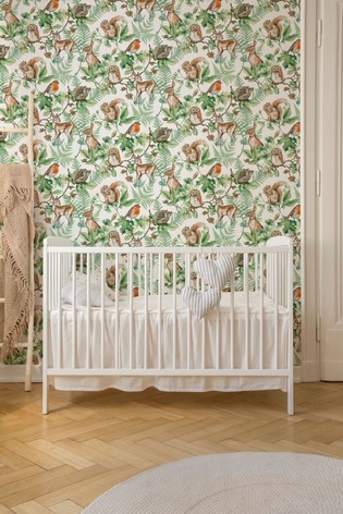 Superfresco Easy Woodland Animals Wallpaper by Art For The Home