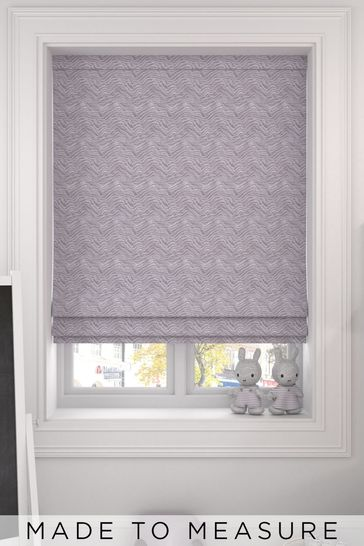 Bronte Pebble Natural Made To Measure Roman Blind