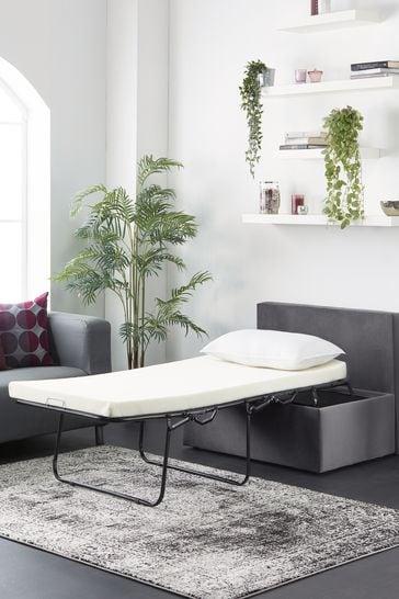 Aspire Footstool Bed Plush Grey