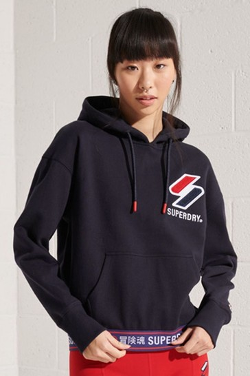 Superdry Sportstyle Chenille Hoodie