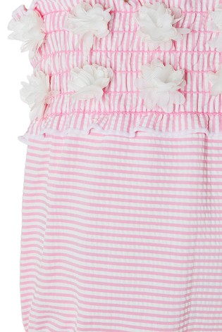 Monsoon Baby Poppy Seersucker Swimsuit