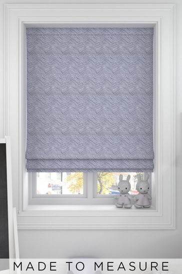 Bronte Silver Grey Made To Measure Roman Blind