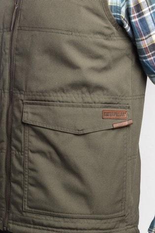 CAT® Green AG Zip Up Vest