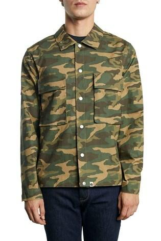 Pretty Green Likeminded Camo Overshirt