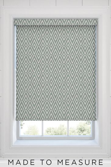 Nina Sage Green Made To Measure Roller Blind