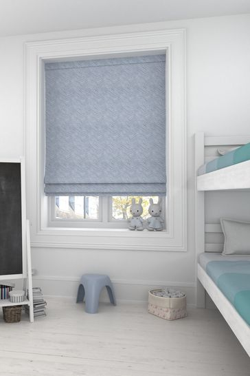 Bronte Duck Egg Green Made To Measure Roman Blind
