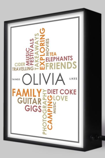 Personalised Lightbox Collection Gift Experience by