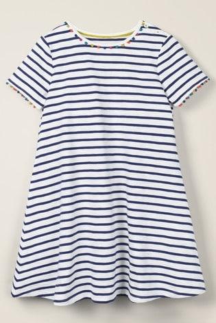 Mini Boden Blue Mini Me Charlie Jersey Dress