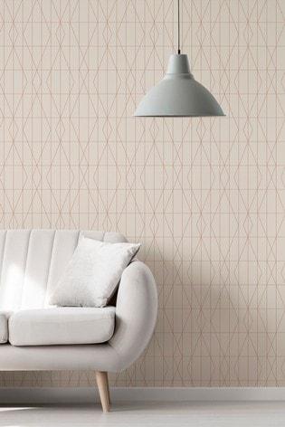 Urban Walls Deco Diamond Geo Wallpaper by Urban Walls