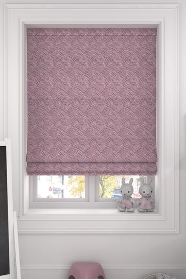 Bronte Rose Pink Made To Measure Roman Blind