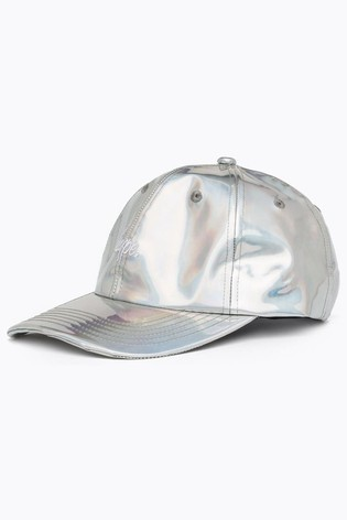 Hype. Silver Iridescent Dad Hat