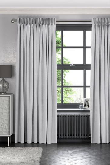 Sayeh Silver Grey Made To Measure Curtains