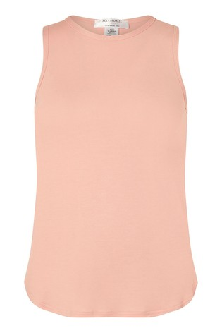 Accessorize Pink Tank Top
