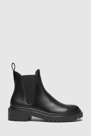 Schuh Black Adam Chunky Chelsea Boots