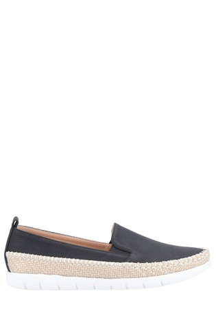 Divaz Black Kendall Slip-On Summer Shoes